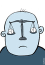Cartoon: Eyes of justice (small) by martirena tagged justice,eyes