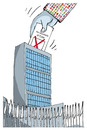 Cartoon: No blockade of Cuba. (small) by martirena tagged bolckade,cuba,countries,vote