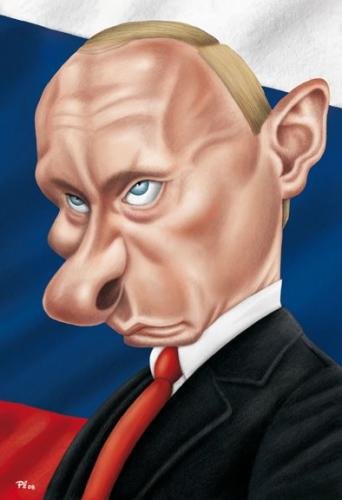 Cartoon: Putin (medium) by pe09 tagged putin
