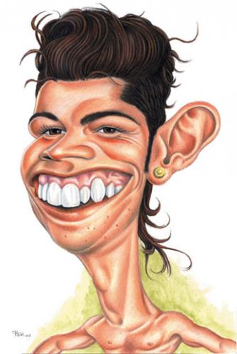 Cartoon: Ronaldo (medium) by pe09 tagged cristiano,ronaldo