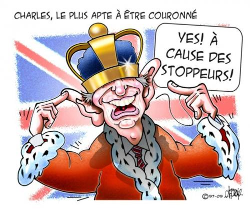 Cartoon: Le Prince Charles (medium) by Mario Lacroix tagged