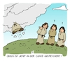 Cartoon: Jesus in der Cloud (small) by achecht tagged jesus,religion,christentum,christi,himmelfahrt,gott,cloud,computing,computer,speicher,internet,vatertag
