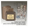 Cartoon: The real (small) by achecht tagged eau,de,toilette,parfum,toilet,refill,refilling,station