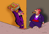 Cartoon: capitalism (small) by Dubovsky Alexander tagged capitalism,book,attack