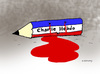 Cartoon: Charlie Hebdo attack...all of (small) by Dubovsky Alexander tagged charlie,hebdo,attack,terrorism,freedom