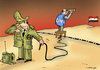 Cartoon: Deadline (small) by Dubovsky Alexander tagged resolution,the,war,united,nations,syria,observers