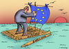 Cartoon: free-swimming (small) by Dubovsky Alexander tagged referendum,politics