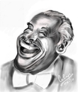 Cartoon: Cab Calloway (small) by cabap tagged caricature,ipad