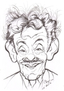 Cartoon: Jerry Stiller (small) by cabap tagged caricature