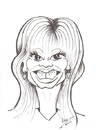 Cartoon: Loni Anderson (small) by cabap tagged caricature