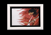 Cartoon: Jack White acrylic (small) by szomorab tagged white stripes acrylic music rock blues alternative red