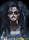 Cartoon: Bellatrix (small) by tobo tagged caricature,harry,potter