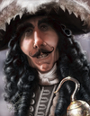 Cartoon: Dustin Hoffman as HOOK (small) by tobo tagged dustin,hoffman,caricature