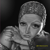 Cartoon: Greta Garbo (small) by tobo tagged greta,garbo