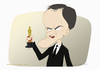 Cartoon: Quentin Tarantino (small) by Wilmarx tagged oscar caricature tarantino film