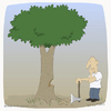 Cartoon: Silent scream (small) by Wilmarx tagged ecology,deforestation,graphics