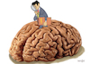 Cartoon: Brain (small) by Senad tagged brain,senad,nadarevic,bosnia,cartoon