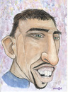 Cartoon: Ribery (small) by Senad tagged ribery,senad,nadarevic