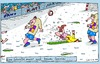 Cartoon: Fußball (small) by Leichnam tagged fußball,sport,schwalbe,sommer,winter,foul