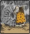 Cartoon: Caveman Wheel of Fortune (small) by cartertoons tagged cavemen,prehistoric,wheel,games,game,shows,fortune,cave