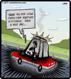 Cartoon: Death Star Assistance (small) by cartertoons tagged onstar,death,star,car,road,help,assistance,laser