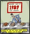 Cartoon: Hungry Like the Wolf (small) by cartertoons tagged music,pop,80s,duran,reunions,friends,food,eating,dinner,1989