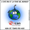 Cartoon: ICAN (small) by sdrummelo tagged nucelar,weapon,ican,earth,planet,bomb,campaign