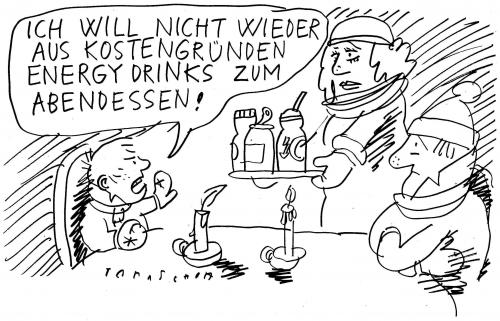 Cartoon: Energy statt Heizung... (medium) by Jan Tomaschoff tagged energiepreise,knappheit