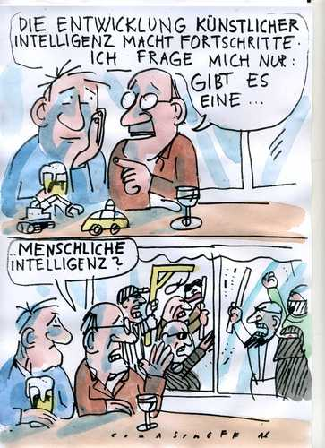 Cartoon: Intelligenz (medium) by Jan Tomaschoff tagged intoleranz,fanatismus,blödheit,fanatismus,intoleranz,blödheit