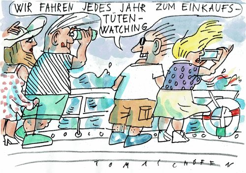 Cartoon: Tüten (medium) by Jan Tomaschoff tagged natur,umwelt,natur,umwelt