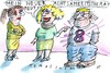Cartoon: Achtsamkeit (small) by Jan Tomaschoff tagged psyche,therapie,achtsamkeit