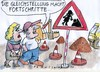 Cartoon: Gleichstellung (small) by Jan Tomaschoff tagged gleichberechtigung,gender