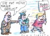 Cartoon: Mindestlohn (small) by Jan Tomaschoff tagged mindestlohn