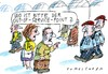 Cartoon: out-of-service-point (small) by Jan Tomaschoff tagged bahn