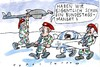 Cartoon: robustes Mandat (small) by Jan Tomaschoff tagged bundeswehr,waffen