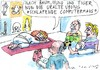Cartoon: Yoga (small) by Jan Tomaschoff tagged yoga,gesundheit,glaube
