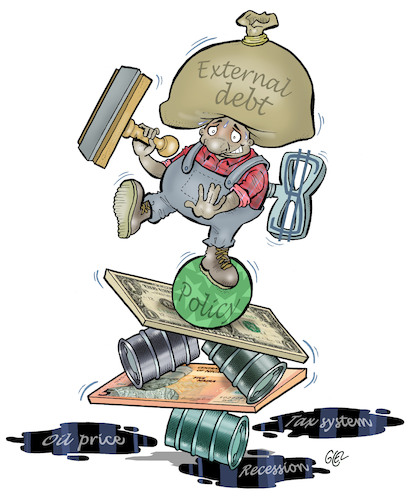 Cartoon: Recession (medium) by Damien Glez tagged economy,political,debt,budget,money,taxes,recession,economy,political,debt,budget,money,taxes,recession