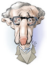 Cartoon: Woody Allen (small) by Damien Glez tagged woody,allen,me,too,sexual,harassment