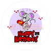 Cartoon: Cartoon Verpackungs Design (small) by FeliXfromAC tagged birthday,happy,lila,lovecrazy,leo,animal,tier,musik,music,maus,love,liebe,mice,mouse,package,kuchenschachtel,schachtel,verpackung,illustration,comic,cartoon,illustrator,aachen,germany,sympathiefigur,mascot,character,line,design,horst,reinhard,alias,felix