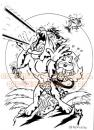 Cartoon: Killer Toons 01 (small) by FeliXfromAC tagged roleplay,game,rollenspiel,animals,tiere,tier,stockart,cat,poster,cartoon,comic,comix,action,classic,felix,alias,reinhard,horst,design,line,banzai,japan,sport,kamikaze,action,toon,comic,comix,aachen,katze,cat,dog,hund,stockart,balla,