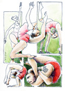 Cartoon: Olympicnastics (small) by AGRA tagged gymnastics,sports,olympics