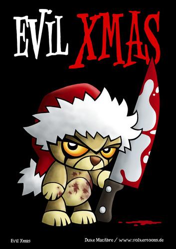 Evil Christmas Characters.Evil Xmas De Volkertoons Medias Et Culture Cartoon Toonpool