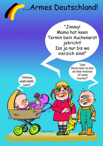 Cartoon: Sichtweiten (medium) by cartoonist_egon tagged blinddate,
