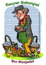Cartoon: Bautzener Eierjockel (small) by cartoonist_egon tagged eier,jockel,ostern