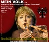Cartoon: Politbarometer 1 (small) by cartoonist_egon tagged politik,cdu,merkel,hartz,iv