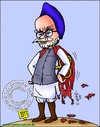 Cartoon: Mahamaanav (small) by Chander  tagged pm india manmohan congress