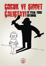 Cartoon: child and violence (small) by halisdokgoz tagged child,and,violence,workshop,istanbul,halis,dokgoz
