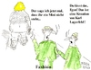 Cartoon: FASHION (small) by quadenulle tagged mode,geschmack,zeitgeist