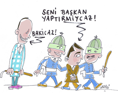 Cartoon: Demokratie (medium) by Hayati tagged erdogan,akp,demirtas,hdp,kurdenführer,konflikt,demokratie,diktatur,karikatur,hayati,boyacioglu,erdogan,akp,demirtas,hdp,kurdenführer,konflikt,demokratie,diktatur,karikatur,hayati,boyacioglu