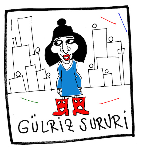Cartoon: Gülriz Sururi (medium) by Hayati tagged schauspielerin,oyuncu,istanbul,kesanli,ali,destani,haldun,taner,engin,cezzar,karikatur,hayati,boyacioglu,schauspielerin,oyuncu,istanbul,kesanli,ali,destani,haldun,taner,engin,cezzar,karikatur,hayati,boyacioglu